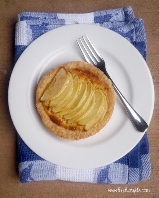 Apple Frangipane Tart © www.foodbabylife.com