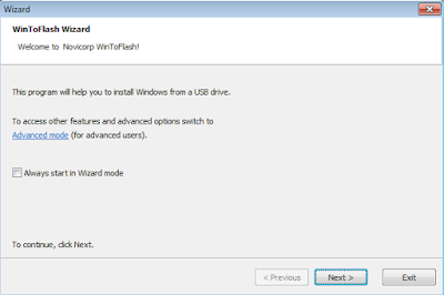 Install Komputer Windows XP WintoFlash Wizard
