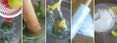 Zubereitung Mojito, Zubereitung Mojito Schritt für Schritt
