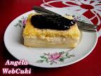 A Tejpite áfonyalekvárral egy könnyed kis sütemény, egy vasárnapi nehéz ebéd után.