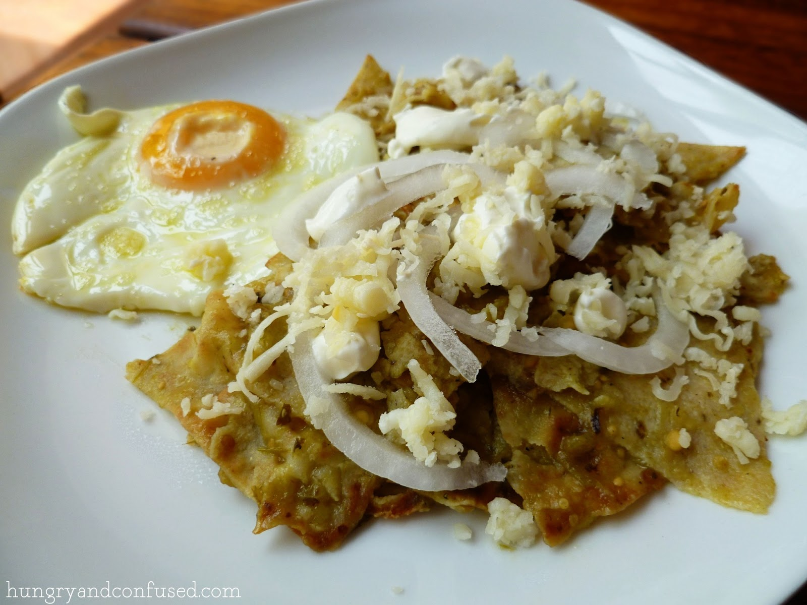 Since being in Mexico, chilaquiles has become one of my favourite ...
