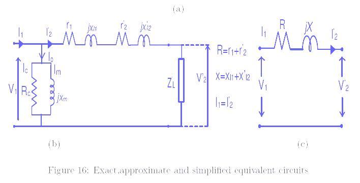 electrical world phasor diagram equivalent ckt of transformer