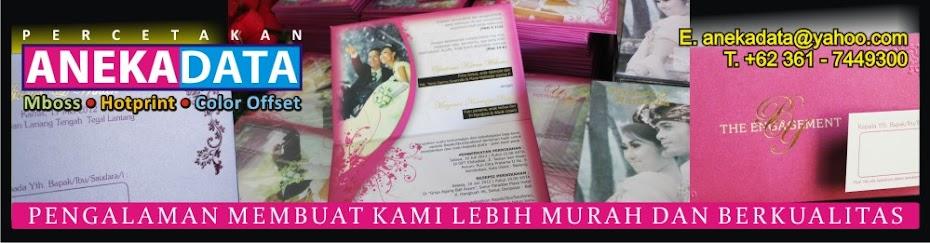 WEDDING CARD IN BALI - KARTU UNDANGAN PERNIKAHAN DI BALI