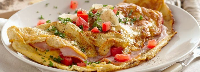 Resep Omelet Daging Sapi Jamur Kancing Spesial Enak dan Praktis