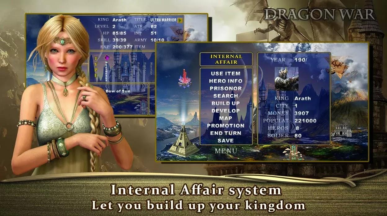 Dragon War - Origin
