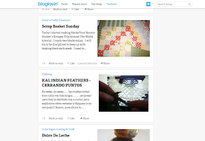 Google Reader to Bloglovin