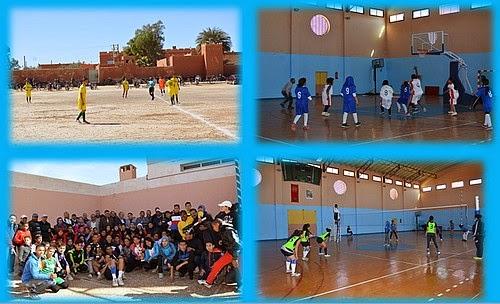 أكاديمية مكناس تافيلالت: البطولة الجهوية للألعاب الجماعية بنيابة الرشيدية