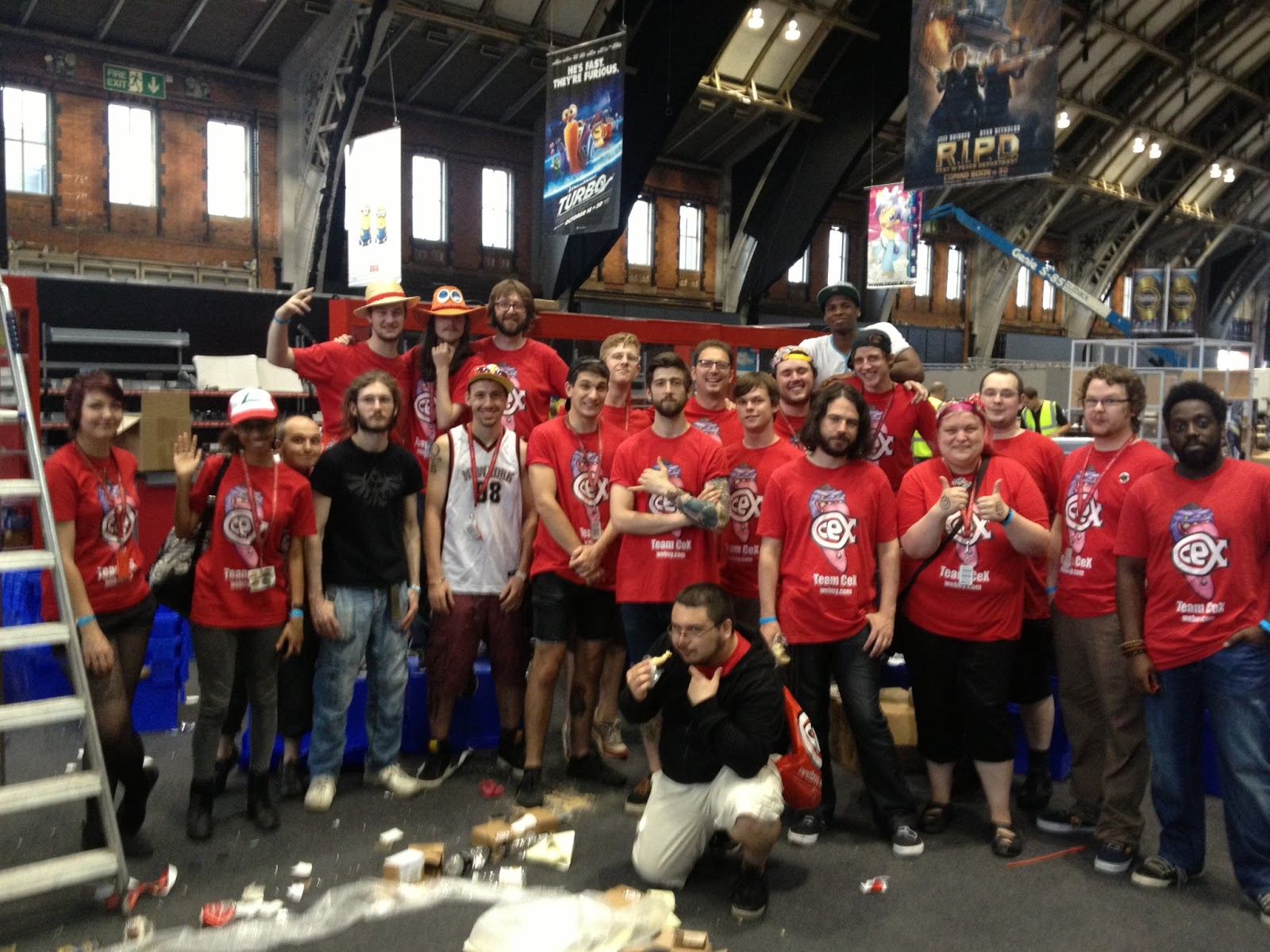 CeX At Comic Con Manchester 20 July