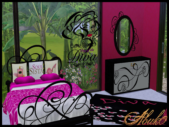 My Sims 3 Blog Diva Bedroom Set By Abuk0