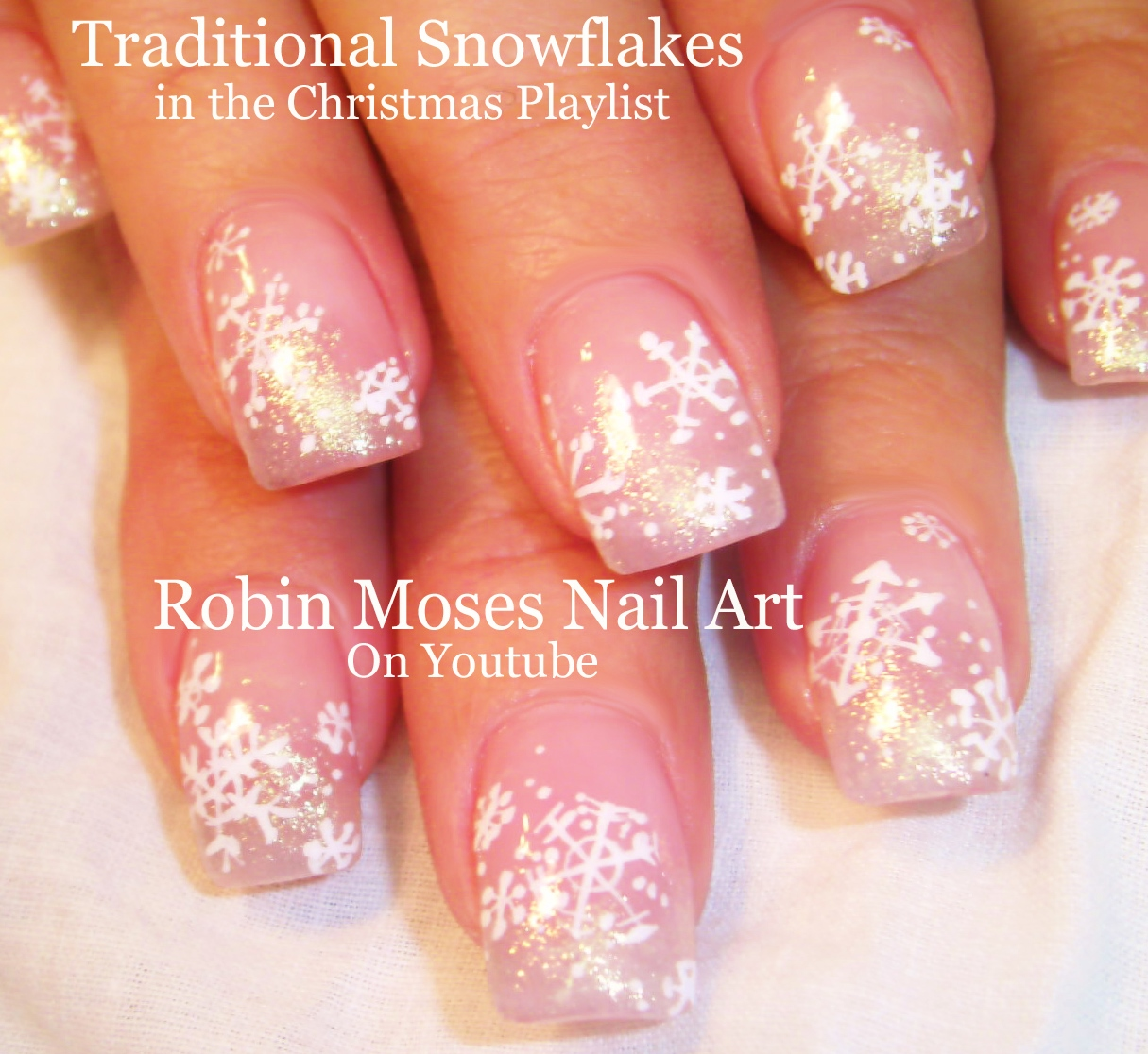 Elegant Christmas Nail Designs: Elegant christmas tree nails my nail ...