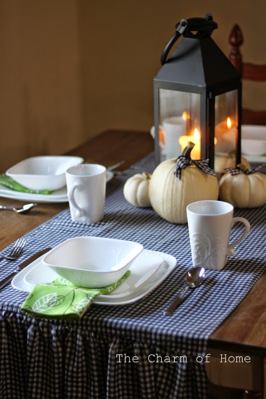 Halloween/Fall Tablescape with Corelle