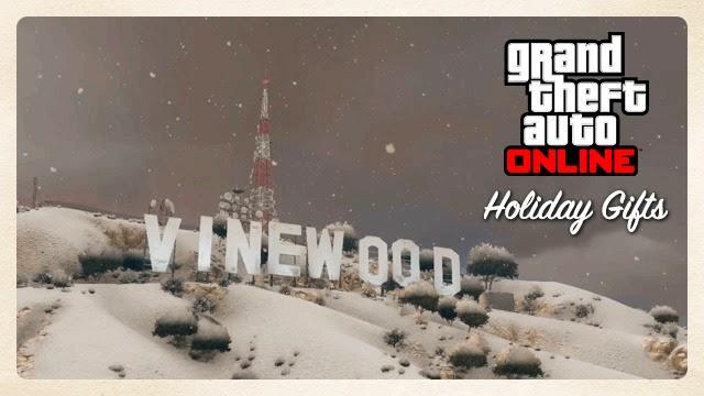 GTA Online  новогоднии ивенты
