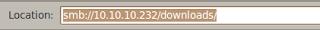 Akses file sharing di Ubuntu