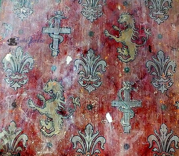 detaliu perete palat miclauseni