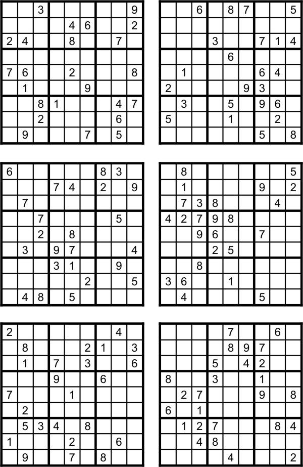 Sudoku Para Imprimir 57