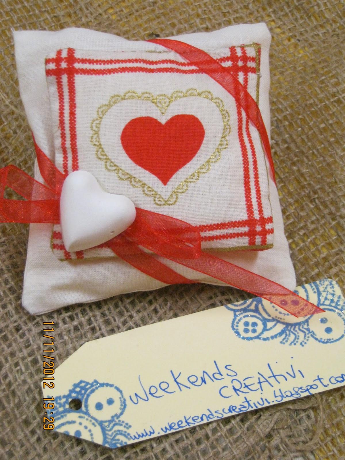 Week ends creativi cuscinetti profumosi idee natalizie - Idee shabby da creare ...