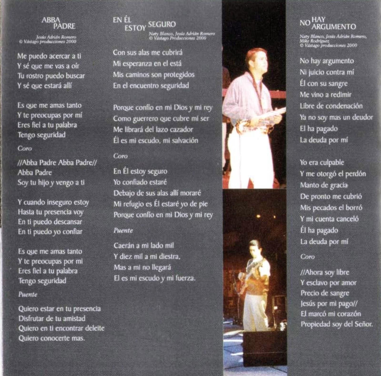 Rebosa Mi Corazon Lyrics & Tabs by Jesús Adrián Romero