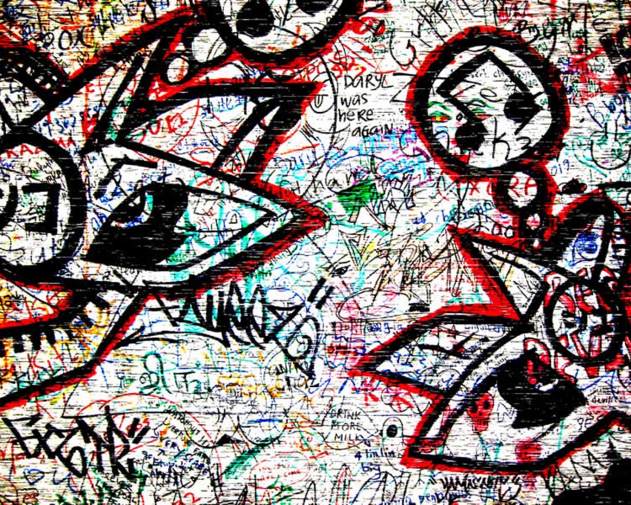 Cool Graffiti Twitter Background