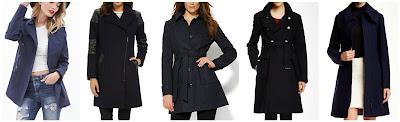 Forever 21 Contemporary Cotton Twill Trench Coat $37.90  DKNY Asymmetrical Moto Coat $65.99 (regular $165.00)  New York & Co Wool Blend Hooded Coat $95.97 (regular $159.95)  Vince Camuto Wool Blend Mid Coat $149.97 (regular $380.00) - I love the other color options too! alternate link  Soia & Kyo Wool Blend Coat $199.97 (regular $390.00)