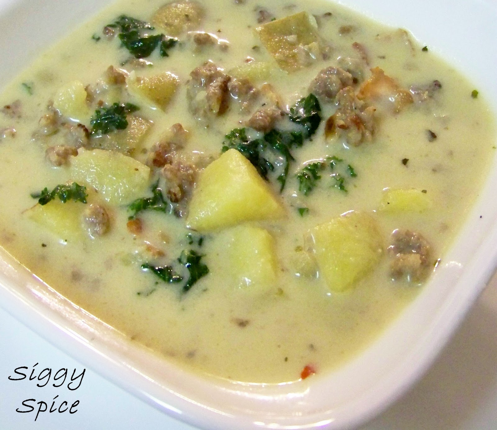 Siggy Spice: Better Than Olive Garden's Zuppa Toscana