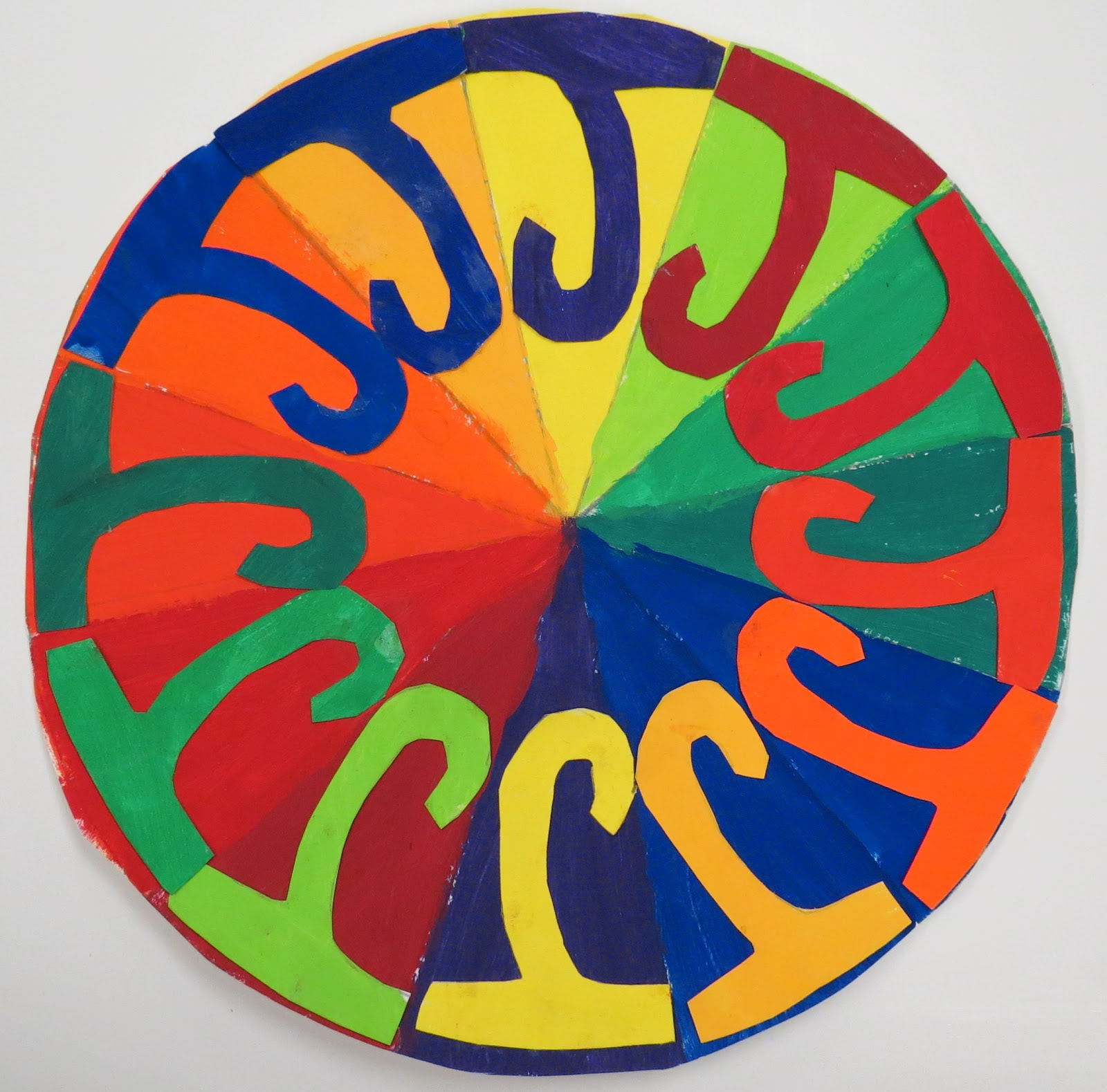 Sinking Springs Art Complementary Color Wheels 5th