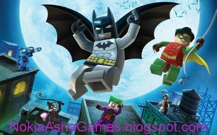 Lego Batman 240x400 java game Download for Nokia Asha 305 306 308 ...