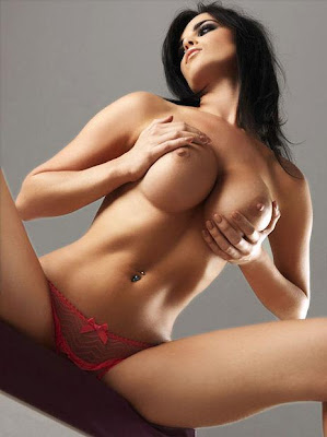 Emma Glover Topless Photo Shoot in Nuts - Bonus Hot Video!