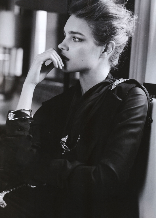 Natalia Vodianova in Elle China January 2009