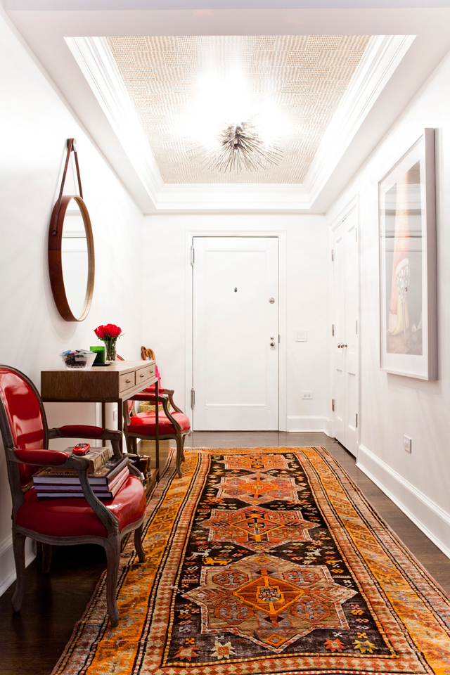 Foyer Tray Ceiling : The peak of très chic designer crush lilly bunn weekes