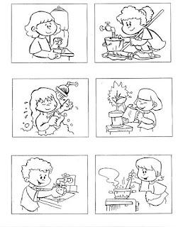blog professor zezinho 100 atividades e desenhos sobre higiene e