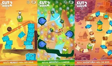 Game Android grátis – Cut the Rope 2