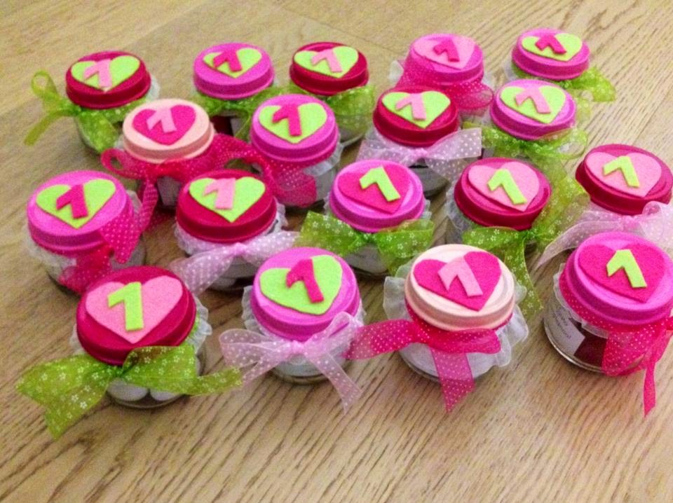 Ben noto Bomboniere 1°compleanno | www.pinkspace.it RK87