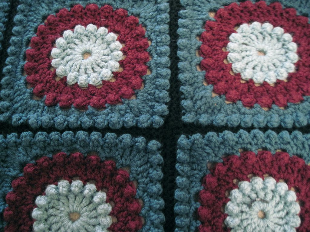 Crochet Patterns Throws : Gallery images and information: Unique Crochet Blanket Pattern