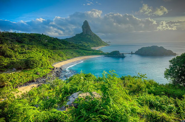 best beach in the world, Fernando de Noronha, Pernambuco, Brazil