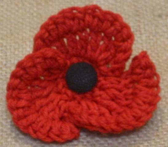 Knitting Pattern For Anzac Day Poppies : 500 Poppies Project