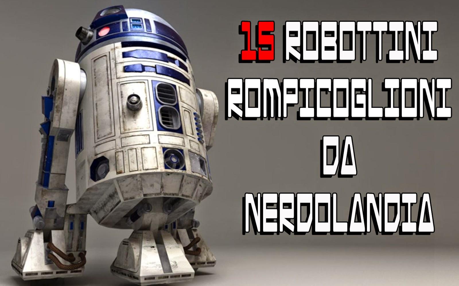 15 robottini rompipalle di film cartoni e serie tv