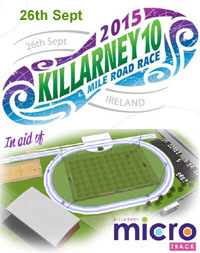 Killarney 10 mile race...Sat 26th Sept 2015