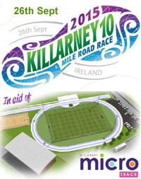 Killarney 10 mile race...Sat 26th Sept 2015