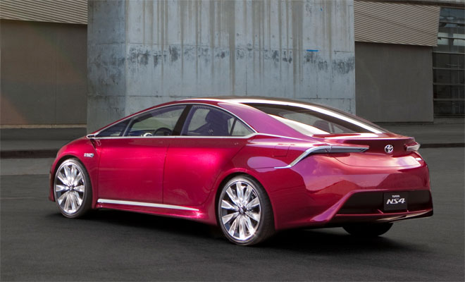 Toyota NS4 concept car - rear view