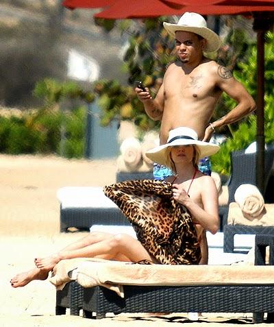 honeymoon Ashlee Simpson and Evan Ross in Bali
