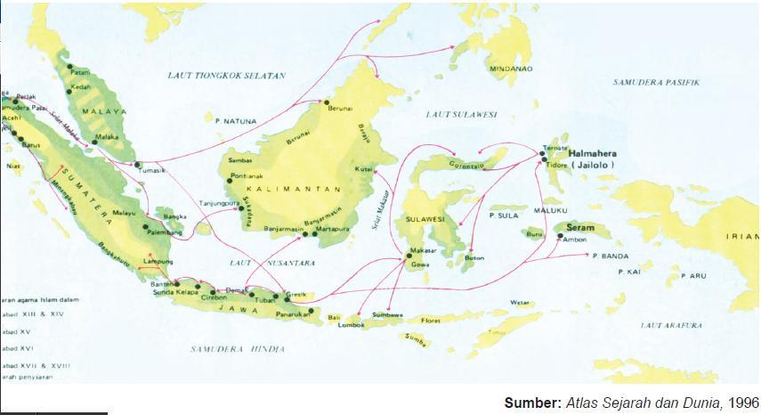 Kerajaan Kerajaan Islam Di Nusantara Erlangga09