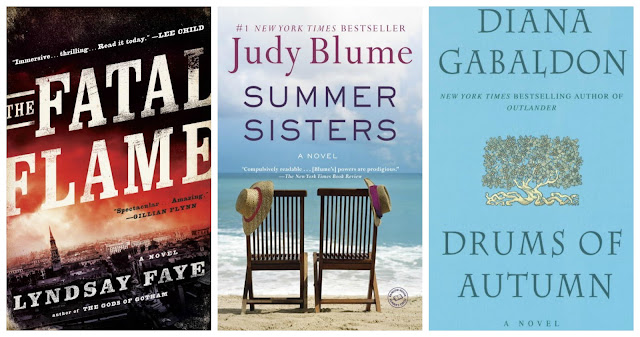 week in reading: fatal flame, summer sisters, drums of autumn