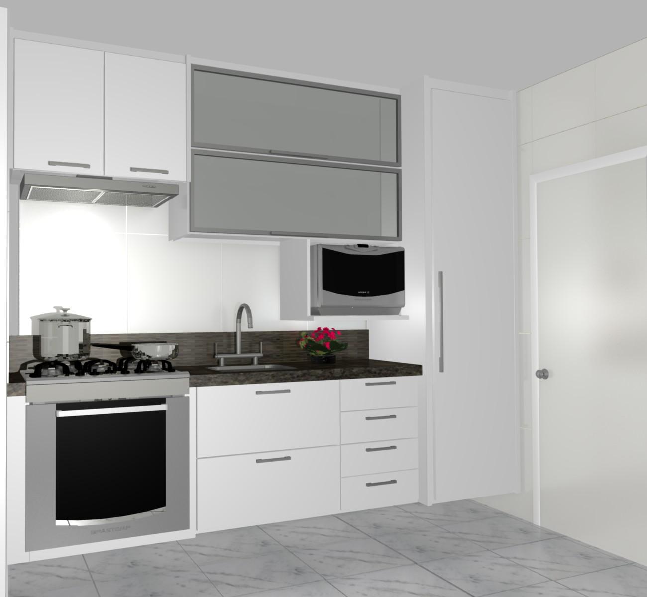 cozinhas planejadas simples bonita pequenas de luxo projeto branca #693840 1300 1200