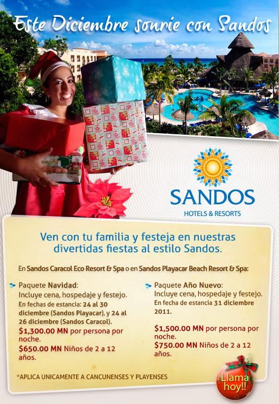 Cupon promocion Sandos Riviera Maya