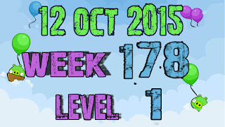 Angry Birds Friends Tournament level 1 Week 178