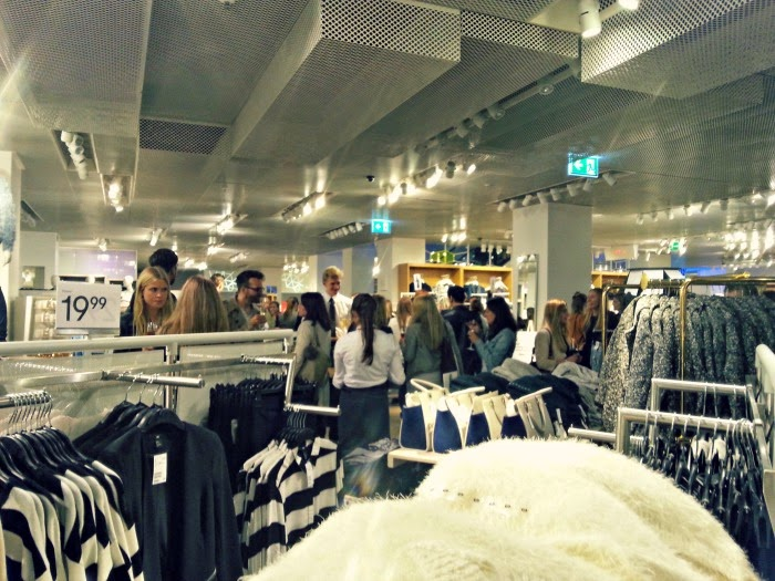 InStyle and H&M Pre-Shopping party in Hamburg