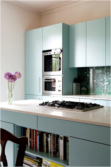 Color Crush Blue and Green Kitchens ~ Room Design Ideas