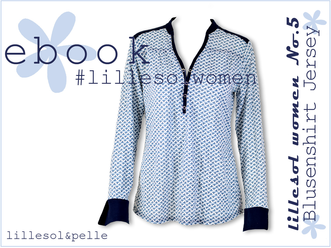 Das neue Blusenshirt Jersey für Damen und Kinder ist online ...