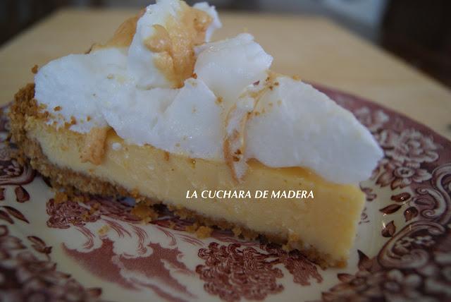 La cuchara de madera tarta de limon - Cuchara de postre ...