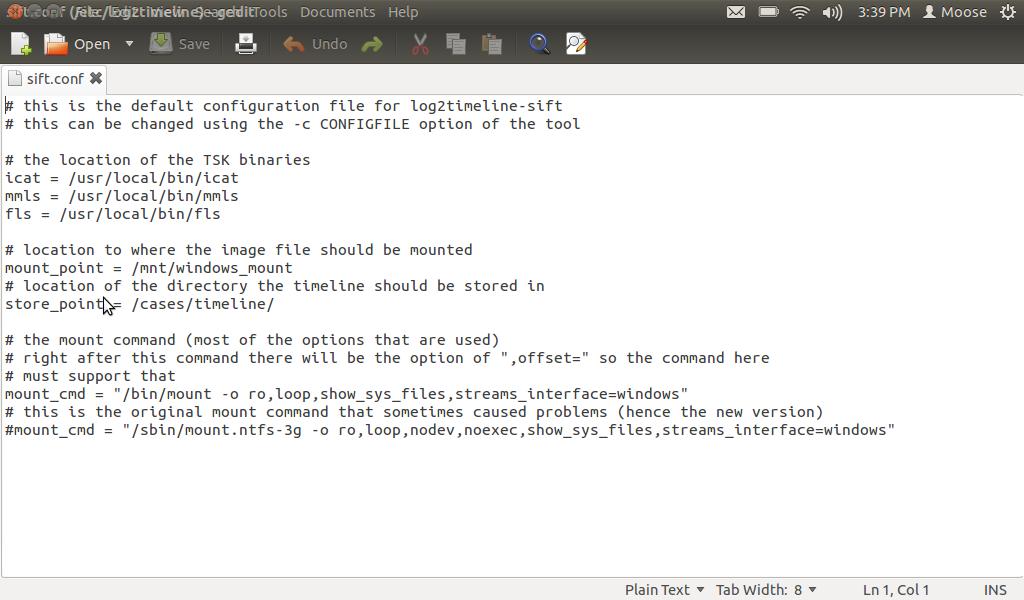 log2timeline-sift: Set it Up and Running....   Sketchymoose\'s Blog
